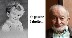 de gauche à droite… entre 1944 et 2014, dates de ces deux photographies, prend place une carrière de chercheur, d'abord au Muséum National d'Histoire Naturelle puis au CNRS. À partir de 2005 (quand sonne la retraite !), philosophie sauvage à temps plein.