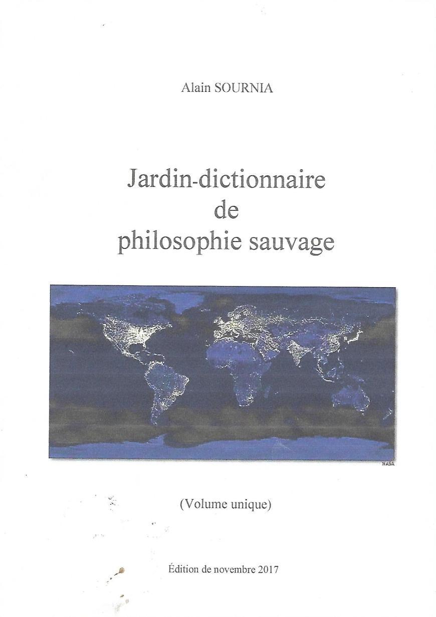 Couverture de Jardin-dictionnaire de philosophie sauvage
