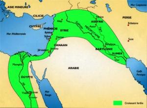 Le Croissant Fertile - Deux mille ans avant les Grecs