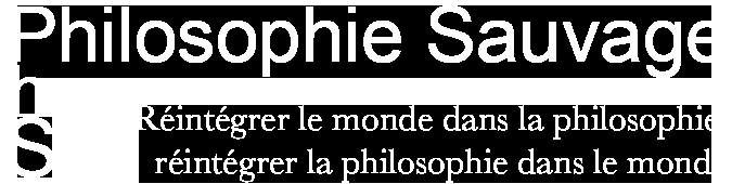 Philosophie Sauvage Logo